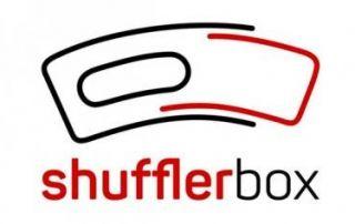 logo shuffler box